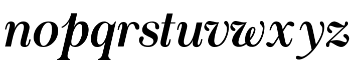 Chapaza Italic Font LOWERCASE