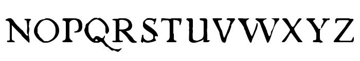 Chapbook-Regular Font UPPERCASE