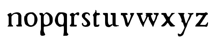 Chapbook-Regular Font LOWERCASE