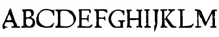 Chapbook Font UPPERCASE
