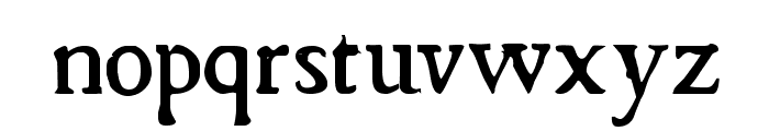 Chapbook Font LOWERCASE