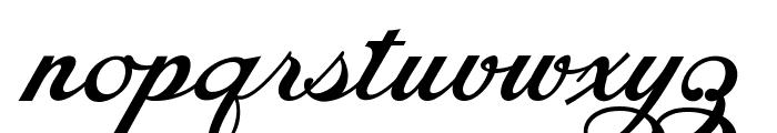 Chapel Script PERSONAL USE Font LOWERCASE