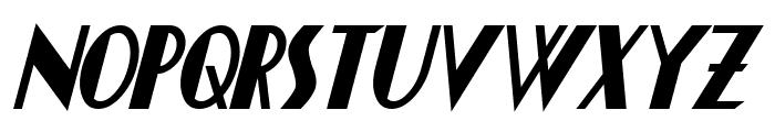 Chapleau Bold Italic Font UPPERCASE