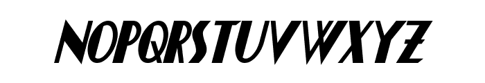 Chapleau Bold Italic Font LOWERCASE