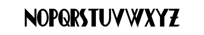 Chapleau Bold Font LOWERCASE