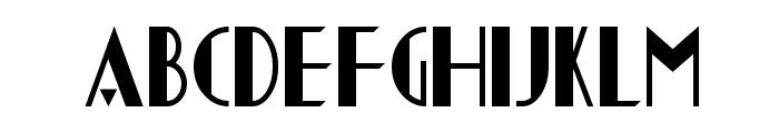 Chapleau Font UPPERCASE