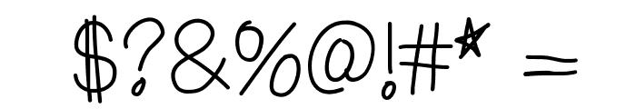 ChapulFont Font OTHER CHARS