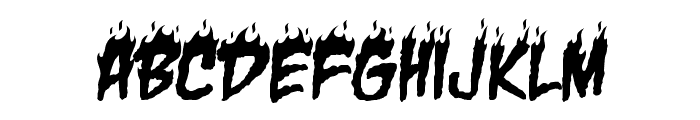 CharBB Font UPPERCASE