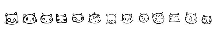 CharacterCats Font UPPERCASE