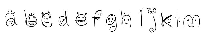CharacterCats Font LOWERCASE