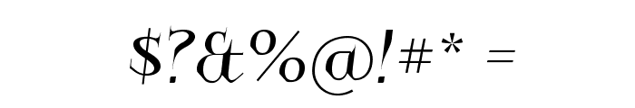 Charakterny Font OTHER CHARS