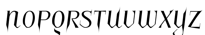 Charakterny Font UPPERCASE