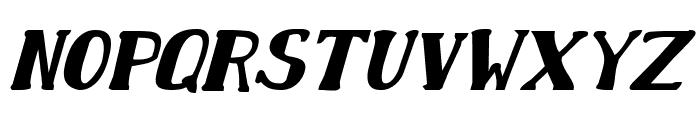 Chardin Doihle Bold Italic Font LOWERCASE