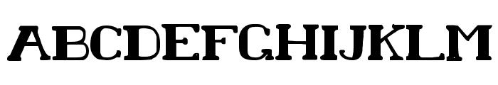 Chardin Doihle Bold Font UPPERCASE