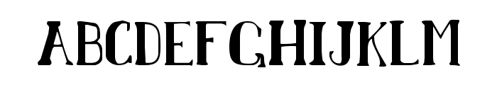 Chardin Doihle Condensed Font LOWERCASE