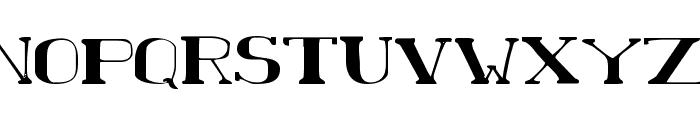 Chardin Doihle Expanded Font UPPERCASE