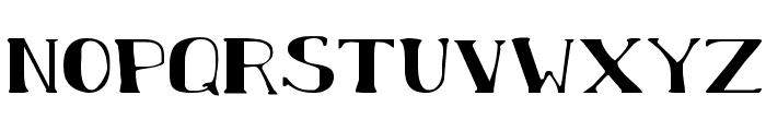 Chardin Doihle Expanded Font LOWERCASE