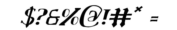 Chardin Doihle Italic Font OTHER CHARS