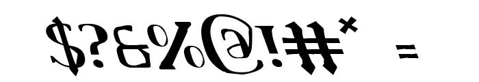 Chardin Doihle Leftalic Font OTHER CHARS