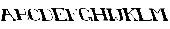 Chardin Doihle Leftalic Font UPPERCASE