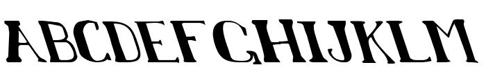 Chardin Doihle Leftalic Font LOWERCASE