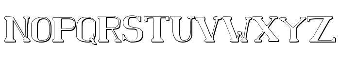 Chardin Doihle Shadow Font UPPERCASE