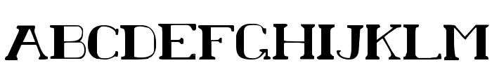 Chardin Doihle Font UPPERCASE