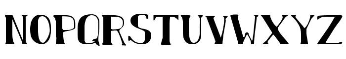 Chardin Doihle Font LOWERCASE