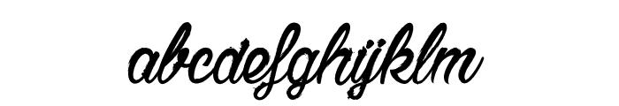 Chardons Brush Font LOWERCASE