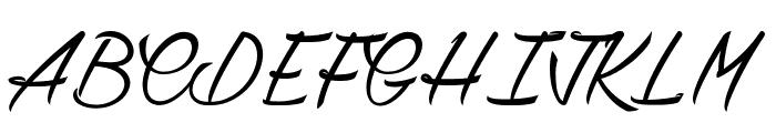 Chardons Font UPPERCASE