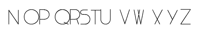 ChargeleSS Font LOWERCASE