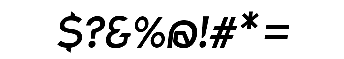 Charger Bold Italic Font OTHER CHARS