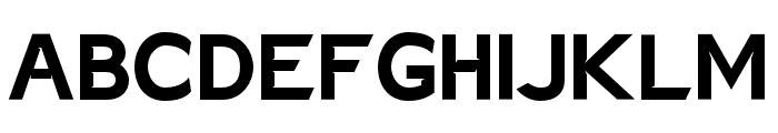 Charger EcoBold Font UPPERCASE