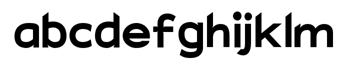 Charger EcoBold Font LOWERCASE