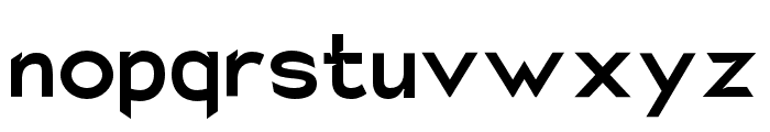 Charger Eco Font LOWERCASE