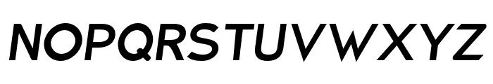 Charger ExtraBold Italic Font UPPERCASE