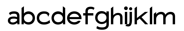 Charger Pro Bold Extended Font LOWERCASE