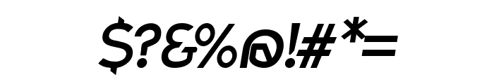 Charger Pro Bold Oblique Font OTHER CHARS