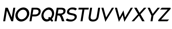 Charger Pro Bold Oblique Font UPPERCASE