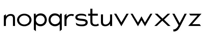 Charger Pro Extended Font LOWERCASE