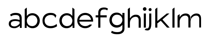 Charger Pro Light Extended Font LOWERCASE