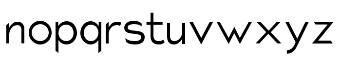 Charger Pro Light Font LOWERCASE