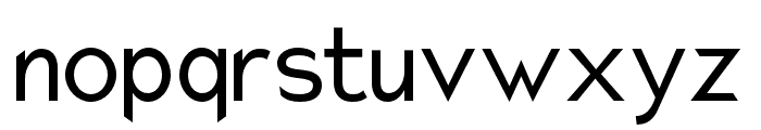 Charger Pro Narrow Font LOWERCASE