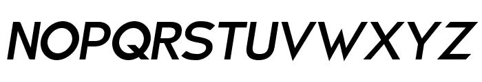 Charger Sport Bold Oblique Font UPPERCASE