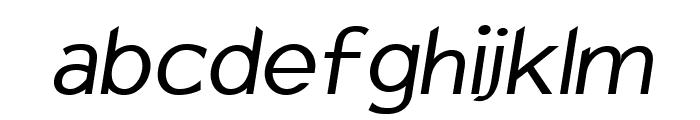Charger Sport Defiance Oblique Font LOWERCASE