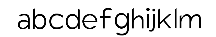Charger Sport Extralight Font LOWERCASE