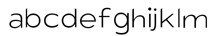 Charger Sport Hairline Extended Font LOWERCASE
