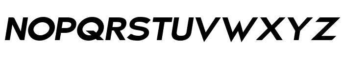 Charger Sport Ultrablack Extended Oblique Font UPPERCASE