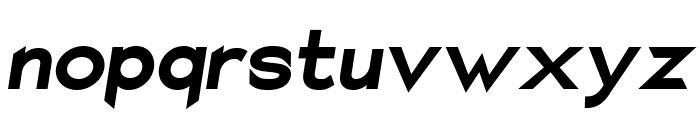 Charger Sport Ultrablack Oblique Font LOWERCASE