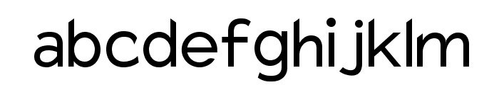 Charger Font LOWERCASE